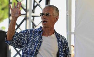 Keith Jarrett, le 16 juillet 2011, à Antibes-Juan-les-Pins.