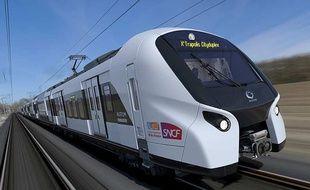 « X'Trapolis Cityduplex », construit par le consortium Alstom-Bombardier, équipera progressivement les lignes des RER D et E à partir de 2021.