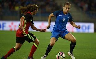 Les Bleues comptent sur Eugénie Le Sommer pour l'Euro.