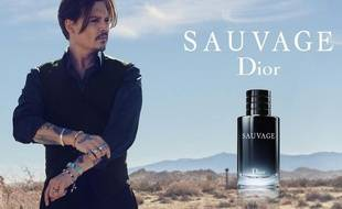 Johnny Depp dans la nouvelle pub Dior pour le parfum