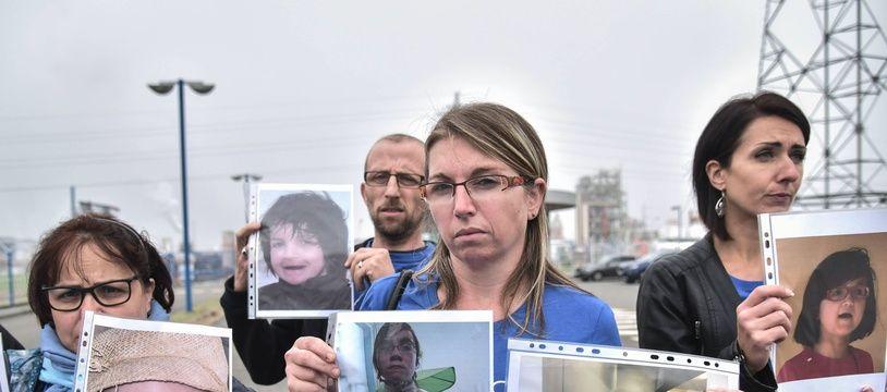 Manifestation des familles de victimes de Dépakine
