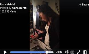 C'est sans doute la plus belle preuve d'amour que pouvait recevoir Alana Duran.