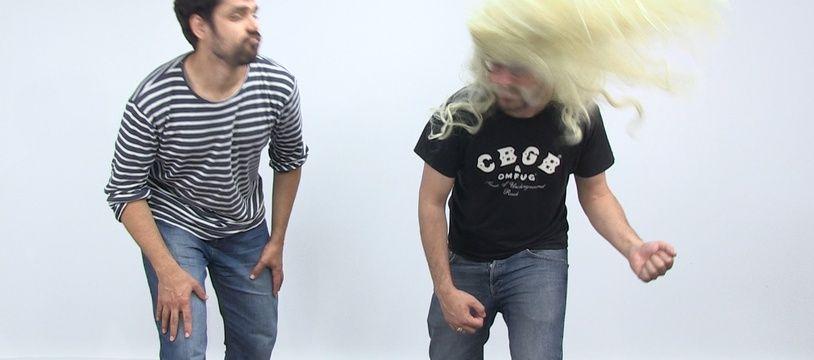 Tuto headbanging par Mathieu et Benjamin.