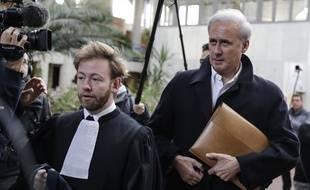 Georges Tron, le maire de Draveil, le 23 octobre 2018.