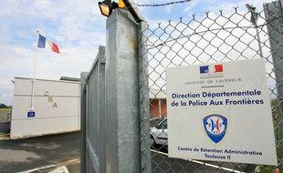 Centre de retention administrative de Cornebarrieu Direction Departementale de la Police aux Frontieres.