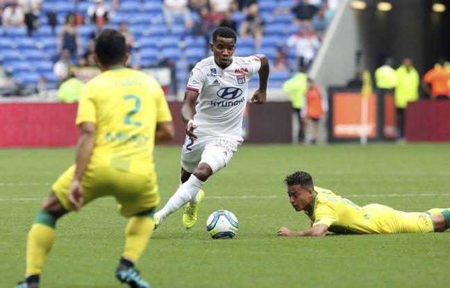 Ici en Ligue 1 face à Nantes le mois dernier, Thiago Mendes a de grandes difficultés à s'adapter à l'OL jusque-là.