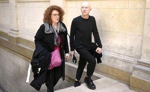 Steven Cohen et son avocate au tribunal de Paris le 5 mai 2014.