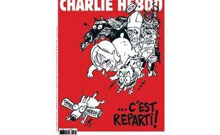 La Une du numéro 1179 de Charlie Hebdo.