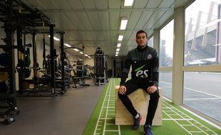 Florian Bailleux est un préparateur particulièrement sollicité ces derniers temps, avec l'enchaînement un peu fou de matchs du Racing club de Strasbourg.
