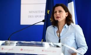 La ministre des Sports a tenu une conférence de presse lundi 9 mars pour faire un point sur les mesures contre le coronavirus.