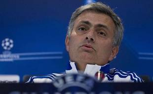 José Mourinho, le 15 mars 2011 en conférence de presse
