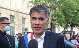 Olivier Faure, secrétaire général du PS, le 9 juin 2020 à Paris.
