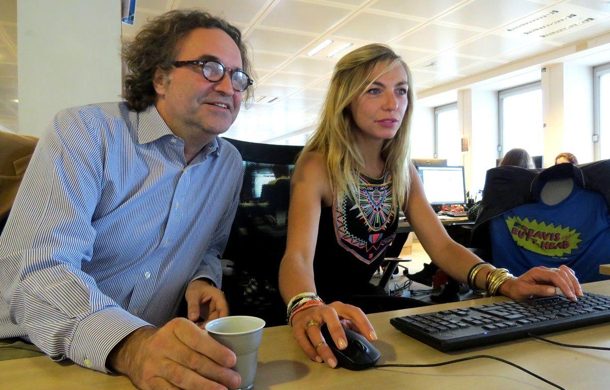 Camille et philippe de sc nes de m nages nos points communs l 39 humour et la complicit - Camille scene de menage ...