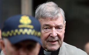Le Cardinal George Pell à Melbourne en Australie, le 29 septembre 2020.