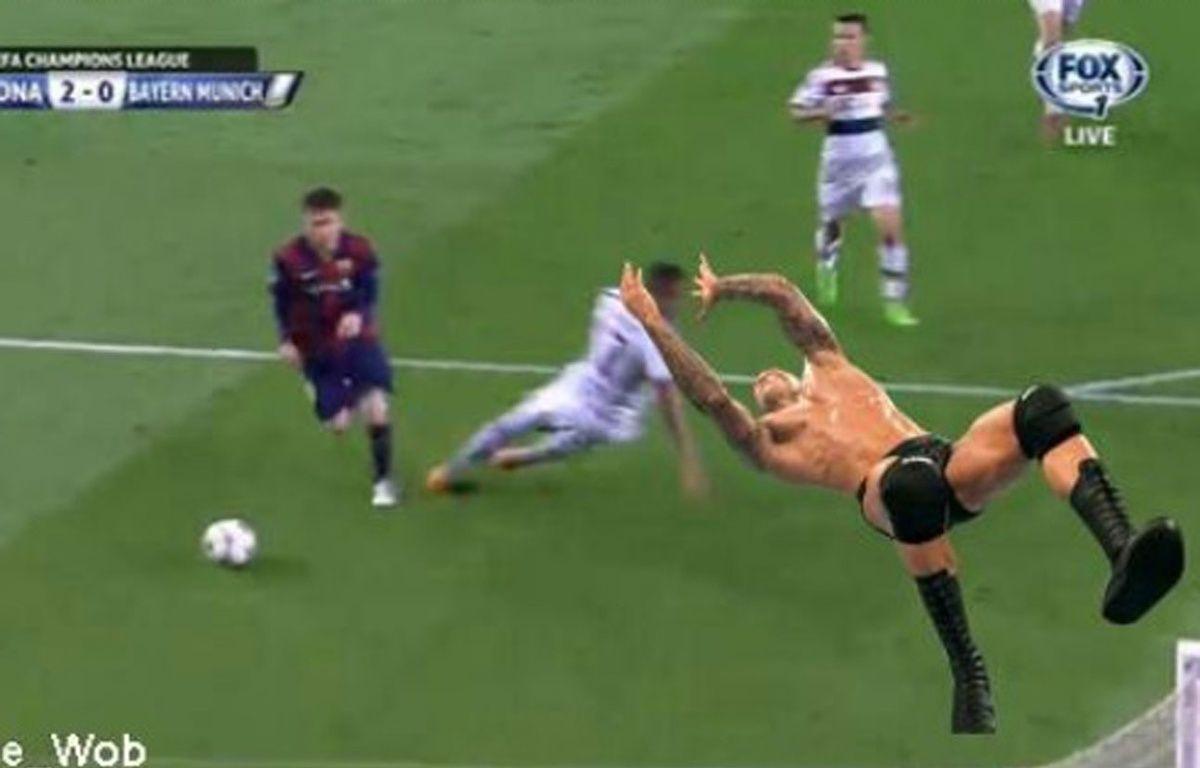 Jerome Boateng est devenu la risée de Twitter après Barça-Bayern. – Capture d'écran/DR