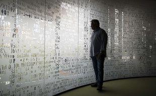 Eugene Kaspersky au siège de l'entreprise à Moscou, le 1er juillet 2017.