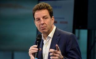 Geoffroy Roux de Bézieux, le 19 novembre 2019, à Paris.