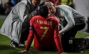 Ronaldo est sorti blessé