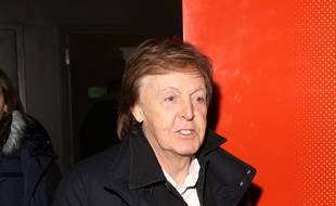 Le musicien Paul McCartney à New York.