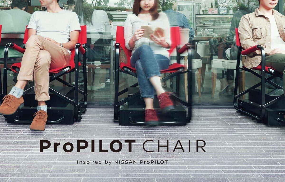 Les chaises autonomes utilisent des caméras embarquées associées à un logiciel. – Capture d'écran