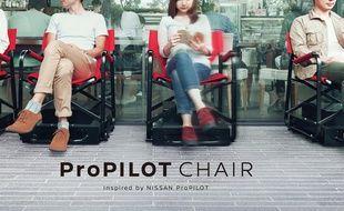 Les chaises autonomes utilisent des caméras embarquées associées à un logiciel.
