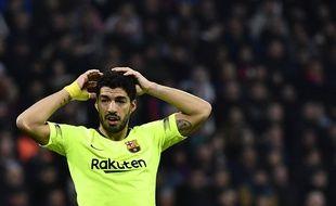 Luiz Suarez n'a plus marqué à l'extérieur en Ligue des champions depuis 2015.