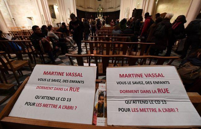 Marseille: Le département promet une mise à l'abri des mineurs isolés installés dans une église du Vieux-Port dès ce mercredi soir