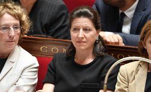 Agnès Buzyn, la ministre de la Solidarité et de la Santé, à l'Assemblée nationale le 5 juillet 2017.