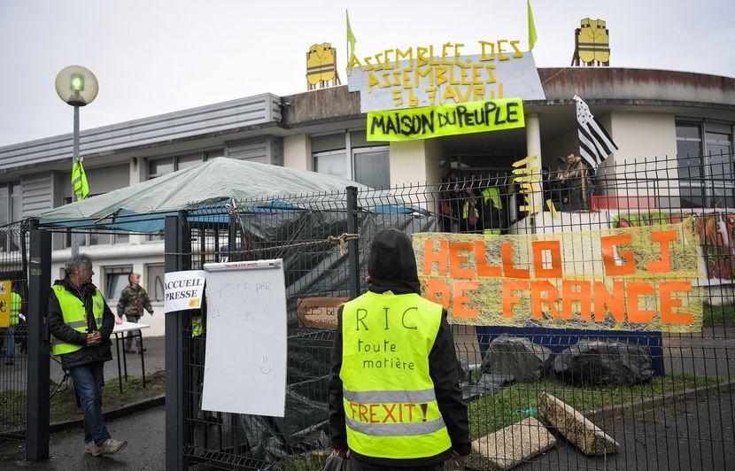 Saint-Nazaire: Les «gilets jaunes» ont quitté leur Maison du peuple et cherchent un nouveau lieu