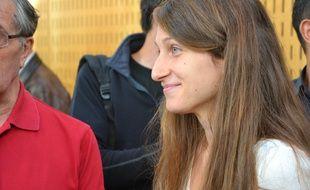 Camille Halut, observatrice de la Ligue des droits de l'homme.