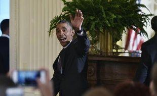 Barack Obama le 9 juin 2016 à la Maison Blanche à Washington