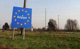 Frontière belge dans le nord de la France