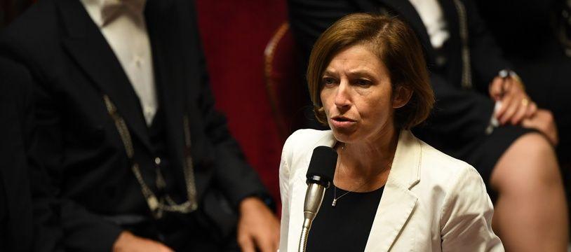 Florence Parly, la ministre des Armées, à l'Assemblée nationale, le 12 septembre 2018.