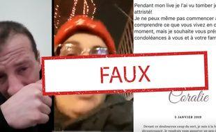 L'intox sur la mort d'une « gilets jaune » belge a connu une grande viralité samedi 5 janvier.