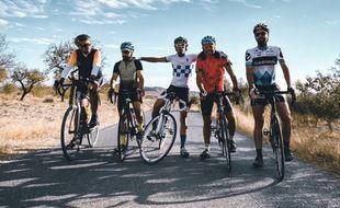 Une bande de copains a décidé de traverser une partie de l'Espagne pour la bonne cause.