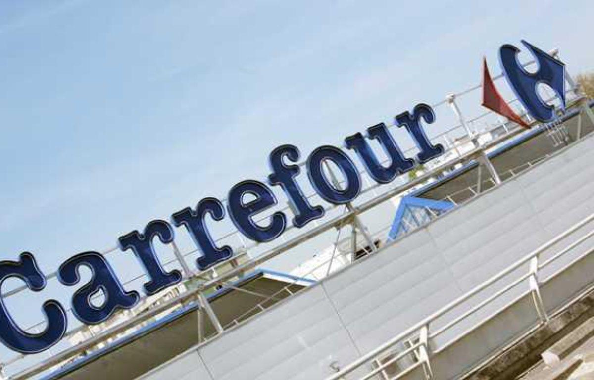Une enseigne Carrefour en avril 2011. – SOLAL/SIPA