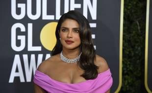L'actrice Priyanka Chopra