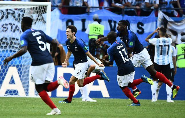 Coupe du monde 2018: La France bat l'Argentine et file en quarts de finale du Mondial