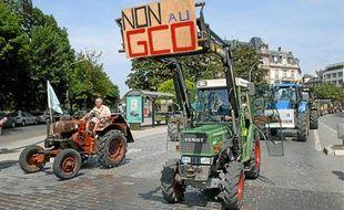 La création du GCO va nécessiter la réquisition de 300hectares de terres agricoles, déplorent ses adversaires.
