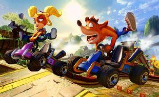 Suite au succès de «Crash Bandicoot N. Sane Trilogy», Crash revient dans un nouveau remake, de jeu de course cette fois, avec «Crash Team Racing Nitro-Fueled»