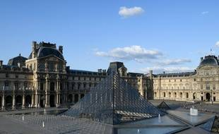 Le musée du Louvre, illustration.