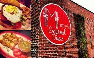 Le Mary's Gourmet Diner à Winston-Salem (Caroline du Nord).