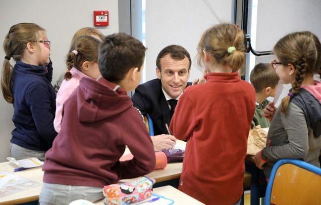 Ecoles publiques: Emmanuel Macron veut un «audit» sur l'exode des enfants juifs