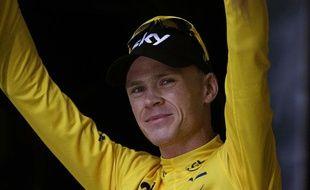 Christopher Froome, vainqueur du Tour de France 2013.