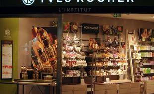 Yves Rocher, distributeur de produits de beauté, enseigne préférée des Français