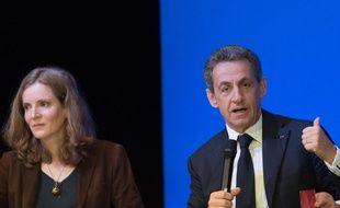 NKM et Sarkozy en novembre 2015.