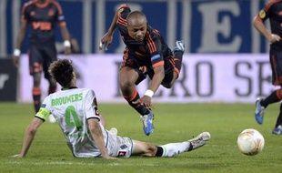 Malgré deux buts de l'Anglais Joey Barton et de Jordan Ayew, Marseille a concédé le nul face à Mönchengladbach (2-2) dans le temps additionnel jeudi lors de la 4e journée de l'Europa League, ratant une occasion de distancer un rival direct pour la qualification en 16e de finale.
