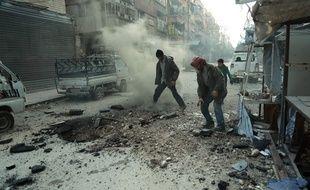 Au 10 mars 2018, le pilonnage de la Ghouta orientale par les forces du régime syrien a tué depuis vingt jours plus de 1.000 civils.