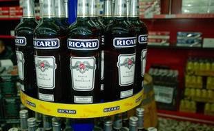 Des bouteilles de Ricard (illustration).