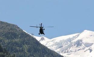 Le massif de Chamonix. Illustration CYRIL VILLEMAIN / 20 MINUTES